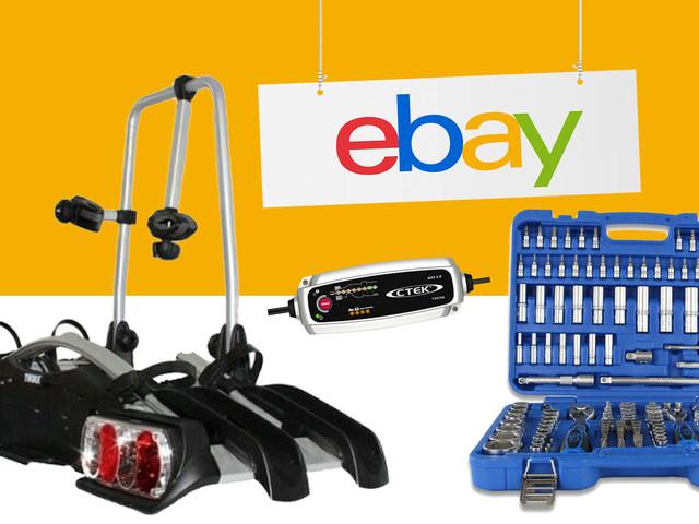 Ebay-Deals: Rabattcode für günstiges Fahrzeugzubehör