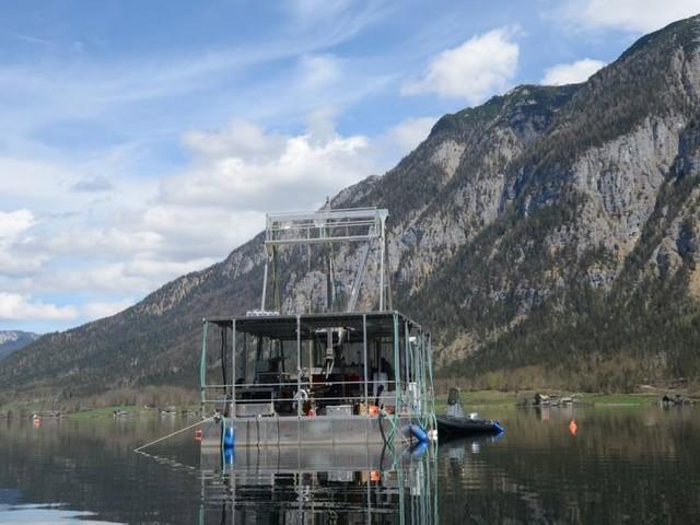 Wie Forscher im Hallstätter See 11.500 Jahre in die Vergangenheit blicken