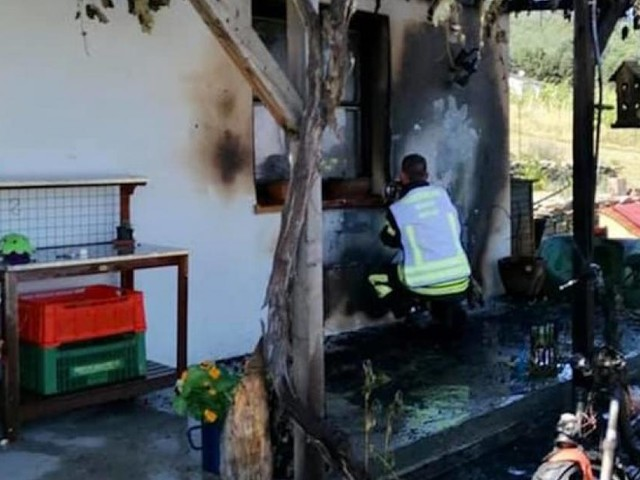 Zwei Brände: Akkus wurden in der Hitze brandgefährlich