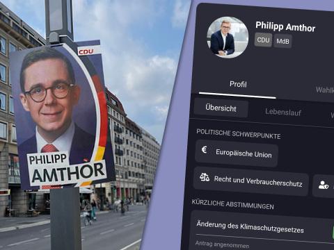 Mobiler Politiker-Check: Neue App zeigt Fakten hinter Wahlplakaten