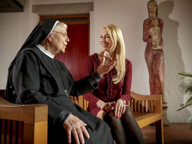 Das Model Susann Rek landete als Kind in einem Heim: Das Mädchen an der Klostertür
