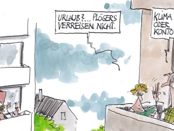 Cartoons der Woche: Burgblick