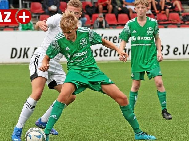 Jugend-Fußball: U15: Arminia und Sterkrade-Nord teilen Punkte im Topspiel
