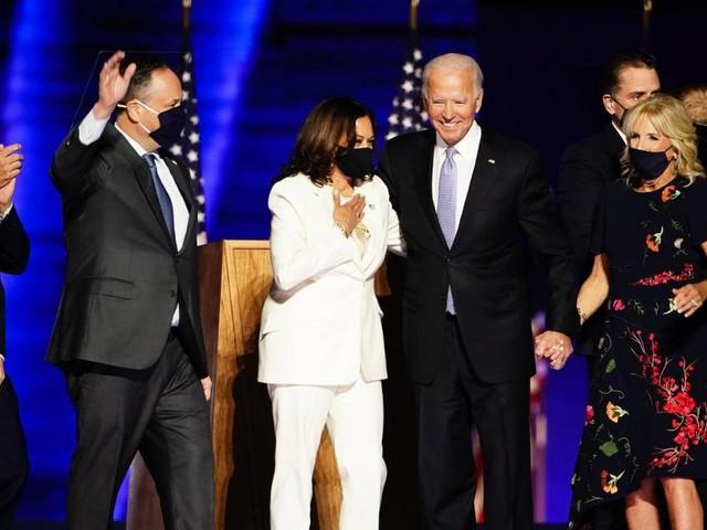 """Joe Bidens Siegesrede: """"Ich will nicht spalten, sondern vereinen"""""""