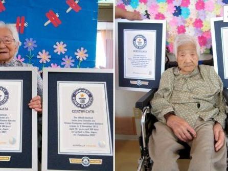 107 Jahre alt: Älteste eineiige Zwillinge leben in Japan
