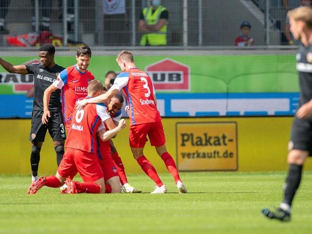 2. Bundesliga: Heidenheim gegen Dynamo Dresden: 2:1, 6. Spieltag