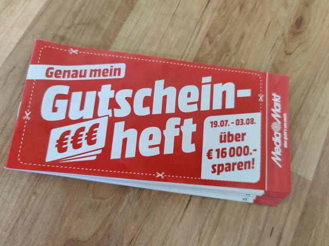 Media Markt mit Gutschein-Heft: Hier können Sparfüchse insgesamt 16.000 Euro sparen