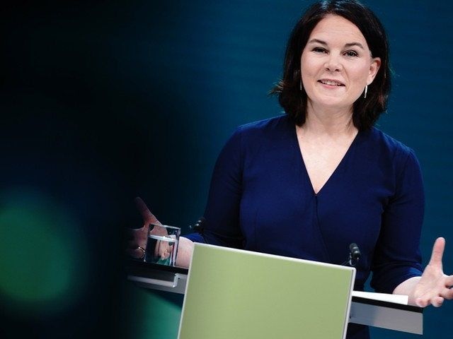 """Anna Peters, Chefin der Grünen Jugend zu Baerbock: """"Soll klar werden, dass wir CDU und CSU in die Opposition schicken wollen"""""""