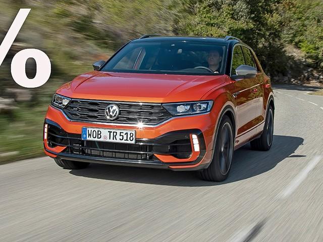 VW T-Roc R (2021): Rabatt, Leistung, Akrapovic, Preis Das kompakte Power-SUV VW T-Roc R mit bis zu 10.692 Euro Rabatt kaufen