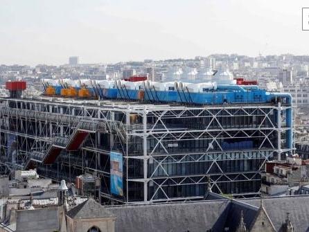 Pariser Centre Pompidou schließt