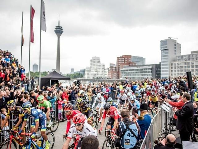 Radrennen: Als die Tour de France in Düsseldorf startete