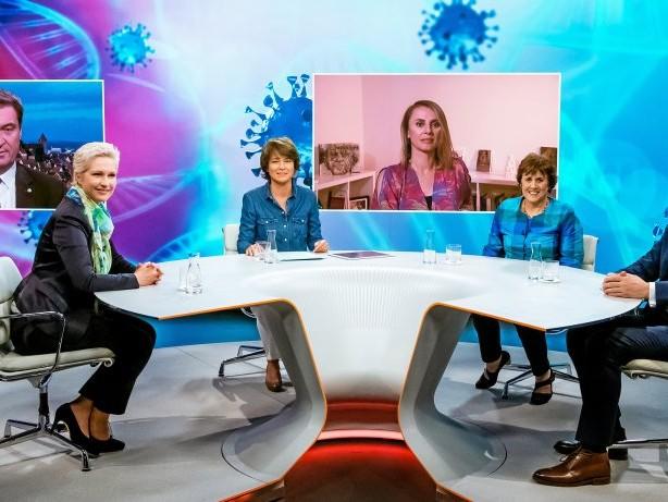 """TV-Talk: Solidarität und Corona: Nur leere Politphrasen bei """"Illner"""""""