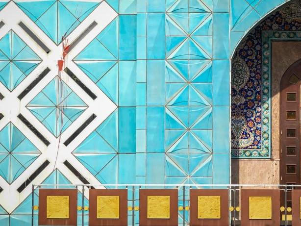 Schmierereien: Farbanschlag auf Blaue Moschee an der Alster verübt