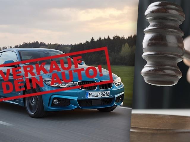 Raser muss sein Auto verkaufen: Gerichtsurteil, Strafe, Polizei Flucht vor Polizei: Gericht verdonnert Raser, seinen 440i zu verkaufen