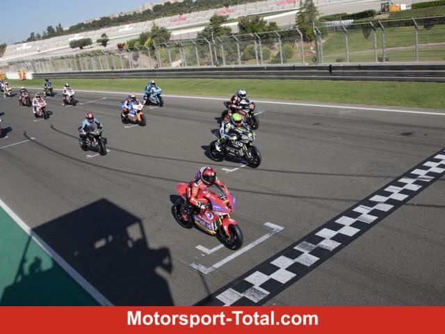 MotoE-Test in Valencia: Eric Granado gewinnt Proberennen