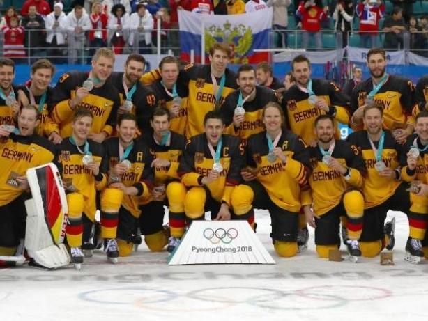 Silber wie Gold: Deutsches Eishockey-Team verpasst das Olympia-Wunder