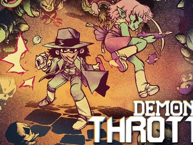 Demon Throttle: Retro-Abenteuer für Switch wird nur in physischer Box-Form erscheinen