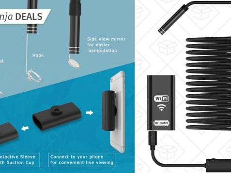 This $19 Wi-Fi Endoscope Could Really Come In Handy Someday, Right?