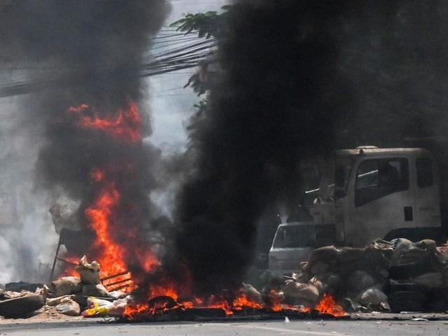 Acht Tote bei Demonstrationen in Myanmar