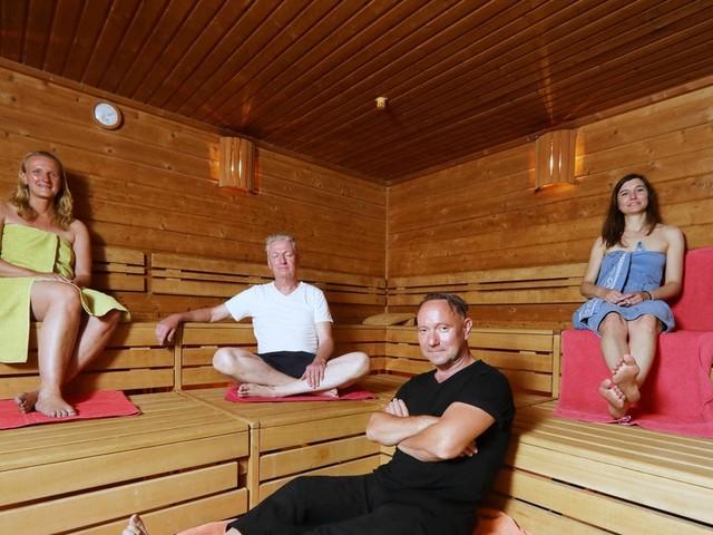 Sauna im Sommer: DAS ist Berlins heißester Arbeitsplatz