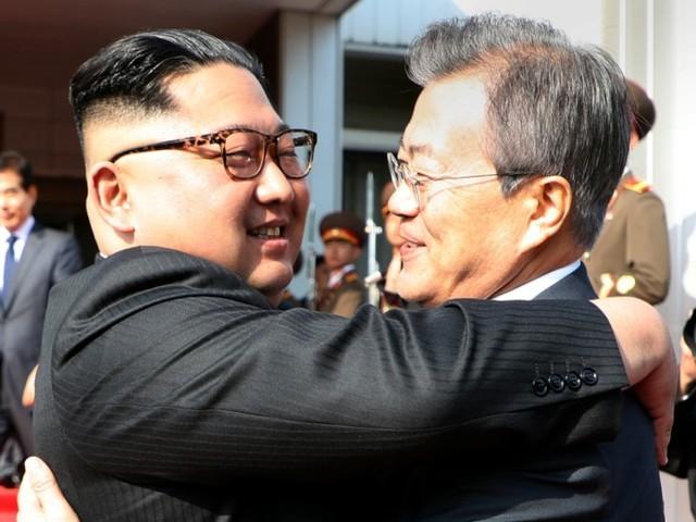 Nordkoreas Kim Jong-un trifft Südkoreas Moon