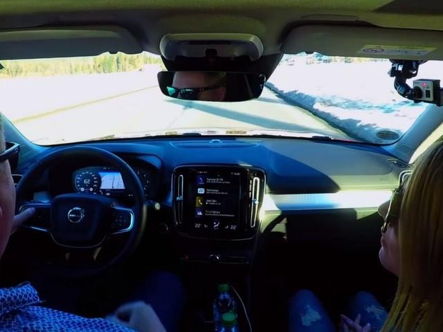 Volvo XC40: Die Fahrerassistenzsysteme im Wintertest