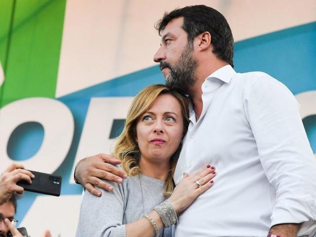 Die Frau, die Salvini von rechts herausfordert
