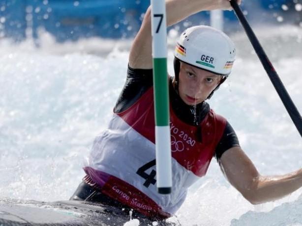 Sommerspiele in Tokio: Slalomkanutin Herzog paddelt ins olympische Premieren-Finale