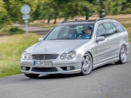 Mercedes C 55 T AMG: Gebrauchtwagen-Test, V8, Kombi, Unterhalt, Reparaturkosten Gebrauchtwagen-Test: Lust und Laster mit dem Mercedes C 55 T AMG