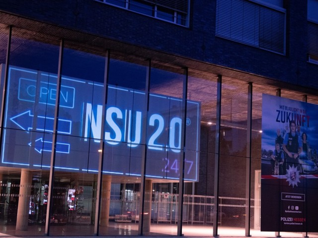 """Rechtsextremismus: Neue Erkenntnisse im Fall """"NSU 2.0"""""""