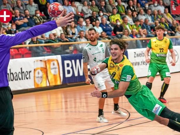 Handball: 35:22! Eintracht Hagen fegt Gegner beim ersten Heimspiel weg