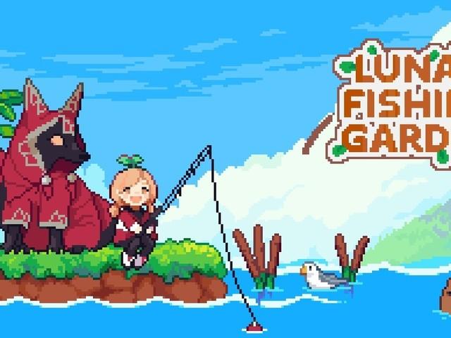 Luna's Fishing Garden: Entspanntes Bau- und Angelabenteuer für PC veröffentlicht