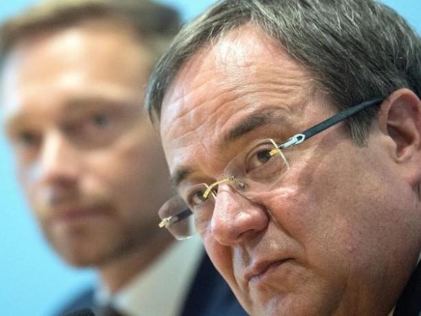 Wahlkampf: Laschet warnt FDP vor Ampelkoalition