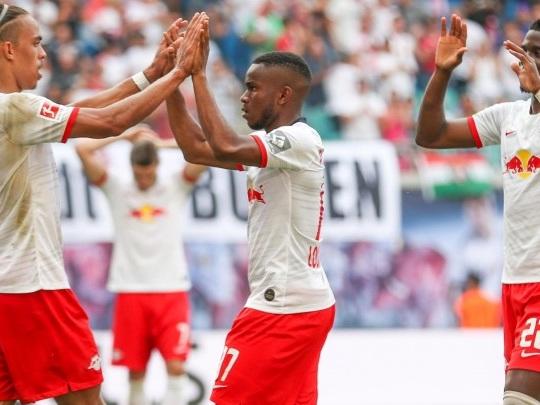 Bundesliga - Leipzig schlägt Frankfurt