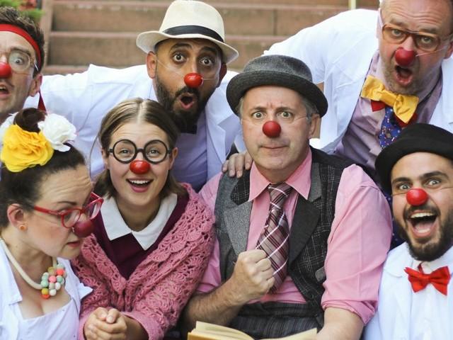 """25 Jahre """"Roten Nasen"""": Die große Kunst, ein Clown zu sein"""