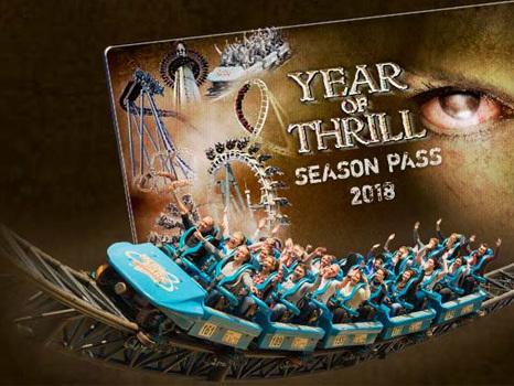 """Heide Park ruft für 2018 """"Year of Thrill"""" aus: Zusätzliche Horror-Events und Jahreskarte zum Tagesticket-Preis"""