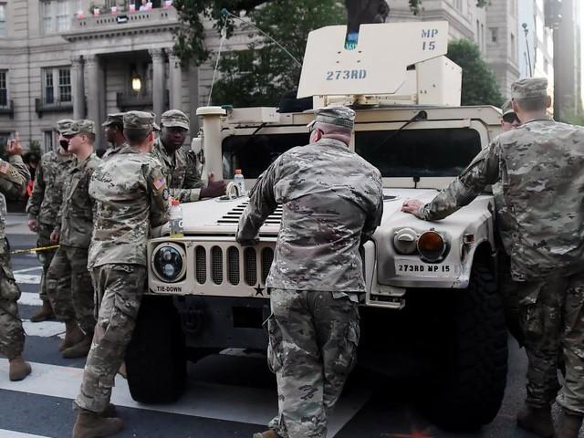 Corona: Mitglieder der US-Nationalgarde infiziert
