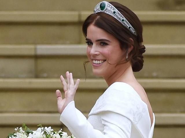 Neues Foto von Prinzessin Eugenies Brautkleid aufgetaucht