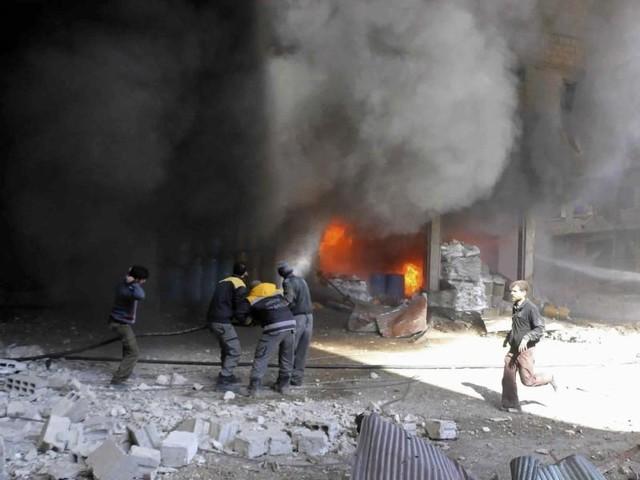 Weit mehr als 200 Tote in syrischem Rebellengebiet