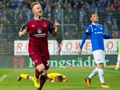 2. Bundesliga: Nürnberg siegt spektakulär in Darmstadt