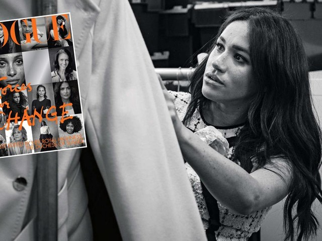"""Wegen """"Vogue""""-Cover: """"Ihr Ego ist außer Kontrolle"""": Wie die britische Presse zum Rundumschlag gegen Meghan ausholt"""
