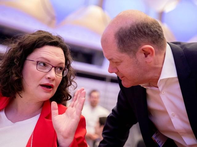 Andrea Nahles kündigt Rücktritt als Partei- und Fraktionschefin der SPD an