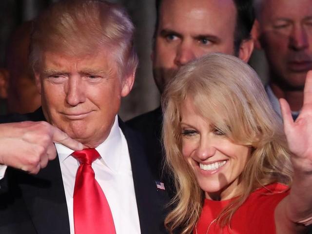 Kellyane Conway: Trumps Beraterin streitet öffentlich über Geisteszustand des Präsidenten – mit ihrem Ehemann