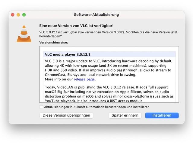 VLC Player: Update bringt nativen Support für M1-Macs