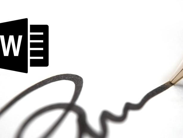 Digitale Zettelwirtschaft: So fügst du deine Unterschrift in Word ein