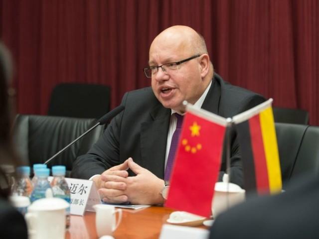 Altmaier setzt sich in China für faire Wettbewerbsbedingungen ein
