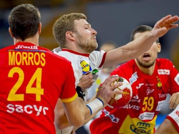 Spiel gegen Spanien: Deutsche Handballer nach Niederlage vor frühem WM-Aus