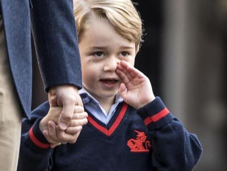 Prinz George löst einen skurrilen Hype aus