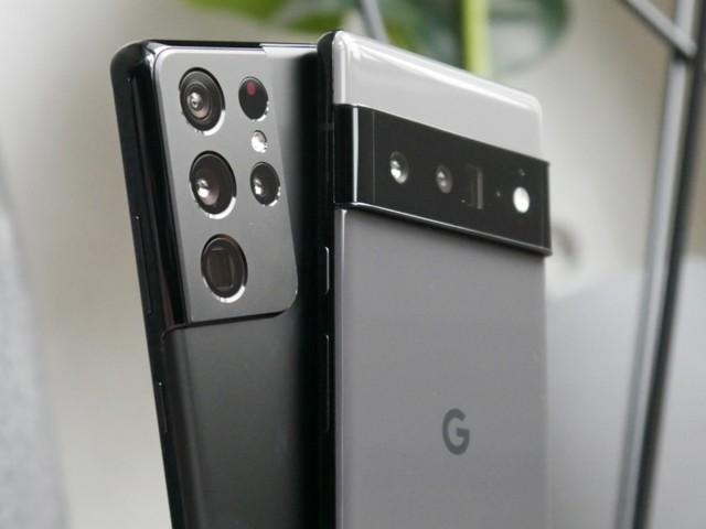 Flaggschiff-Test 2021: Samsung Galaxy S21 Ultra vs. Google Pixel 6 Pro
