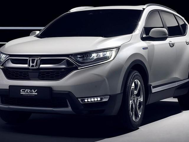 SUV-Bestseller in Neuauflage: Der neue Honda CR-V kommt mit Hybridantrieb
